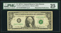 Fr. 1910-A $1 1977A Federal Reserve Note. PMG Very Fine 25