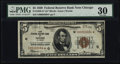 Fr. 1850-G* $5 1929 Federal Reserve Bank Note. PMG Very Fine 30