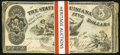 Obsoletes By State:Louisiana, Baton Rouge, LA- State of Louisiana $5(9) Oct. 10, 1862 Cr. 10;. Shreveport, LA- State of Louisiana $5(40) Mar. 10 1863 ... (Total: 49 notes)