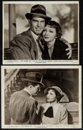 """Movie Posters:Comedy, The Gilded Lily & Other Lot (Paramount, 1935). Fine/Very Fine.Photos (2) (8"""" X 10"""") & Keybook Photos (4) (8"""" X 11"""").Comedy... (Total: 6 Items)"""