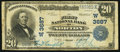 National Bank Notes, Norton, KS - $20 1902 Plain Back Fr. 652 The First NB Ch. # (W)3687. ...