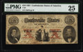 Confederate Notes:1861 Issues, T26 $10 1861 PF-8 Cr. 177.. ...