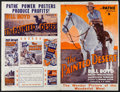 "Movie Posters:Western, The Painted Desert (RKO-Pathé Distributing, 1931). Uncut Pressbook (20 Pages, 14.25"" X 22""). Western.. ..."