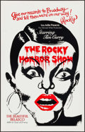 "Movie Posters:Rock and Roll, The Rocky Horror Show (Belasco Theater, 1975). Theater Window Card(14"" X 22""). Rock and Roll.. ..."