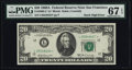 Error Notes:Miscellaneous Errors, Fr. 2068-L* $20 1969A Federal Reserve Note. PMG Superb Gem Unc 67 EPQ.. ...