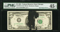 Error Notes:Ink Smears, Ink Smear Error Fr. 1976-G $5 1981 Federal Reserve Note. PMG ChoiceExtremely Fine 45 EPQ.. ...