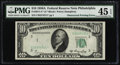 Error Notes:Obstruction Errors, Fr. 2011-C* $10 1950A Federal Reserve Star Note. PMG ChoiceExtremely Fine 45 EPQ.. ...