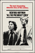 """Movie Posters:Drama, All the President's Men (Warner Brothers, 1976). One Sheet (27"""" X41""""). Drama.. ..."""