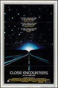 "Movie Posters:Science Fiction, Close Encounters of the Third Kind (Columbia, 1977). One Sheet (27"" X 41"") & Mini Lobby Card Set of 8 (8"" X 10""). Science Fi... (Total: 9 Items)"