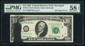 Error Notes:Ink Smears, Ink Smear Error with Rejection Red Crayon Mark Fr. 2018-D $10 1969Federal Reserve Note. PMG Choice About Unc 58 EPQ.. ...