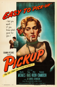 "Pickup (Columbia, 1951). One Sheet (27"" X 41"") ""Easy to Pick-Up"" Style"