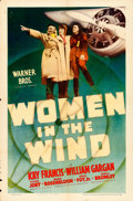 "Movie Posters:Drama, Women in the Wind (Warner Brothers, 1939). One Sheet (27"" X 41"")....."