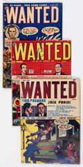 Golden Age (1938-1955):Crime, Wanted Comics Group of 6 (Toytown, 1948-51).... (Total: 6 Comic Books)