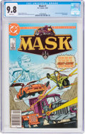 Modern Age (1980-Present):Miscellaneous, Mask #1 (DC, 1985) CGC NM/MT 9.8 White pages....