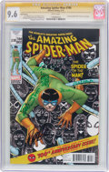 Modern Age (1980-Present):Superhero, The Amazing Spider-Man #700 Third Printing - Signature Series(Marvel, 2013) CGC NM+ 9.6 White pages....