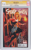 Modern Age (1980-Present):Superhero, Spider-Gwen #4 Variant Edition - Signature Series (Marvel, 2015)CGC NM+ 9.6 White pages....