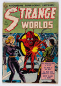 Golden Age (1938-1955):Horror, Strange Worlds #6 (Avon, 1952) Condition: GD....