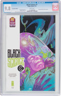 Modern Age (1980-Present):Horror, Black Science #7 Convention Edition (Image, 2014) CGC NM/MT 9.8White pages....