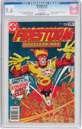Bronze Age (1970-1979):Superhero, Firestorm #1 (DC, 1978) CGC NM+ 9.6 White pages....