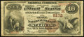 National Bank Notes:Missouri, Saint Louis, MO - $10 1882 Brown Back Fr. 490 The State NB Ch. #5172. ...