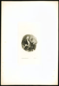 Miscellaneous:Other, Benjamin Franklin Die Proof Vignette.. ...