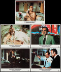 "Movie Posters:James Bond, Diamonds are Forever (United Artists, R-1984). Lobby Cards (5) (11"" X 14""). James Bond.. ... (Total: 5 Items)"