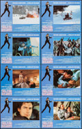 "Movie Posters:James Bond, The Living Daylights (United Artists, 1987). Lobby Card Set of 8(11"" X 14""). James Bond.. ... (Total: 8 Items)"