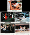 """Movie Posters:James Bond, The Man with the Golden Gun (MGM/UA, R-1984). Lobby Cards (5) (11"""" X 14""""). James Bond.. ... (Total: 5 Items)"""
