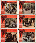 "Movie Posters:Exploitation, The Wild Angels (American International, 1966). Lobby Cards (6)(11"" X 14""). Exploitation.. ... (Total: 6 Items)"