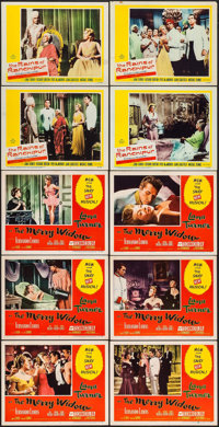 """The Merry Widow & Other Lot (MGM, 1952). Lobby Cards (10) (11"""" X 14""""). Musical. ... (Total: 10 Items)"""