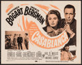 "Movie Posters:Academy Award Winners, Casablanca (Warner Brothers, R-1956). Title Lobby Card (11"" X 14"").Academy Award Winners.. ..."