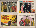 """Movie Posters:Western, Code of the West & Other Lot (Paramount, 1925). Title Lobby Card & Lobby Cards (3) (11"""" X 14""""). Western.. ... (Total: 4 Items)"""