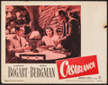 "Movie Posters:Academy Award Winners, Casablanca (Warner Brothers, R-1949). Lobby Card (11"" X 14""). Academy Award Winners.. ..."