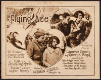 """The Flying Ace (Norman, 1926). Title Lobby Card (11"""" X 14""""). Black Films"""