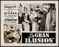 "Movie Posters:Foreign, La Grande Illusion (Europeas, 1938). Argentinean Lobby Card (11"" X14""). Foreign.. ..."