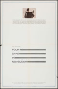 """Movie Posters:Documentary, Four Days in November (United Artists, 1964). One Sheets (2) (27"""" X 41""""). Documentary.. ... (Total: 2 Items)"""