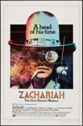 """Movie Posters:Western, Zachariah & Other Lot (ABC, 1971). Folded, Fine/Very Fine. OneSheets (4) (27"""" X 41""""). Western.. ... (Total: 4 Items)"""