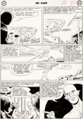 Original Comic Art:Panel Pages, Carmine Infantino Flash #124 Story Page 8 Original Art (DC,1961)....