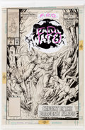 Original Comic Art:Covers, Bruce Zick The Pirates of Dark Water #2 Cover Original Art (Hanna-Barbera/Marvel Comics, 1991)....