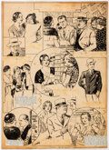 Original Comic Art:Comic Strip Art, William E. Hill The Hill Page/Essays in Pictures SundayComic Strip Original Art 7-3-32 (Chicago Tribune Syndicate...