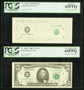 Error Notes:Error Group Lots, Fr. 1980-C $5 1988A Federal Reserve Notes. Two Examples. PCGS VeryChoice New 64PPQ-Gem New 65PPQ.. ... (Total: 2 notes)