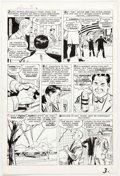 Don Heck Tales to Astonish #40 Story Page 3 Original Art (Marvel Comics, 1963) Comic Art