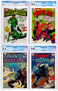 Silver Age (1956-1969):Miscellaneous, DC Silver and Bronze Age Comics CGC-Graded Group of 4 (DC,1966-71).... (Total: 4 Comic Books)