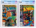Modern Age (1980-Present):Superhero, X-Men #150 and 155 CGC-Graded Group (Marvel, 1981-82) CGC NM/MT9.8.... (Total: 2 Comic Books)