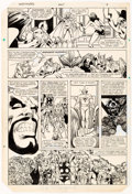 Original Comic Art:Panel Pages, Greg LaRocque and Chic Stone The Avengers #225 Story Page 4Original Art (Marvel, 1982)....