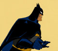 Animation Art:Production Cel, Batman: The Animated Series Batman Production Cel (WarnerBrothers, c. 1990s)....