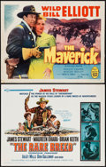 "Movie Posters:Western, The Rare Breed & Others Lot (Universal, 1966). Half Sheets (4) (22"" X 28""). Western.. ... (Total: 4 Items)"