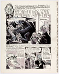 Original Comic Art:Panel Pages, Alex Toth Eerie #2 Partial Story Original Art Group of 2(Warren Publ., 1966)....