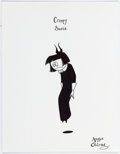 Animation Art:Production Drawing, The Oblongs Creepy Susie Illustration Original Art by AngusOblong (2005)....