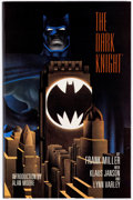 Books:Superhero, Batman: The Dark Knight Returns Signed Limited Edition Hardcover#3393/4000 (DC, 1986)....